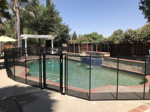 Swimming Pool Livermore Fence