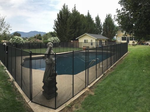 Clear Lake Safety Fence