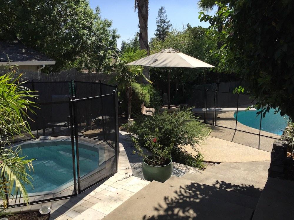 Swimming Pool Modesto Fences