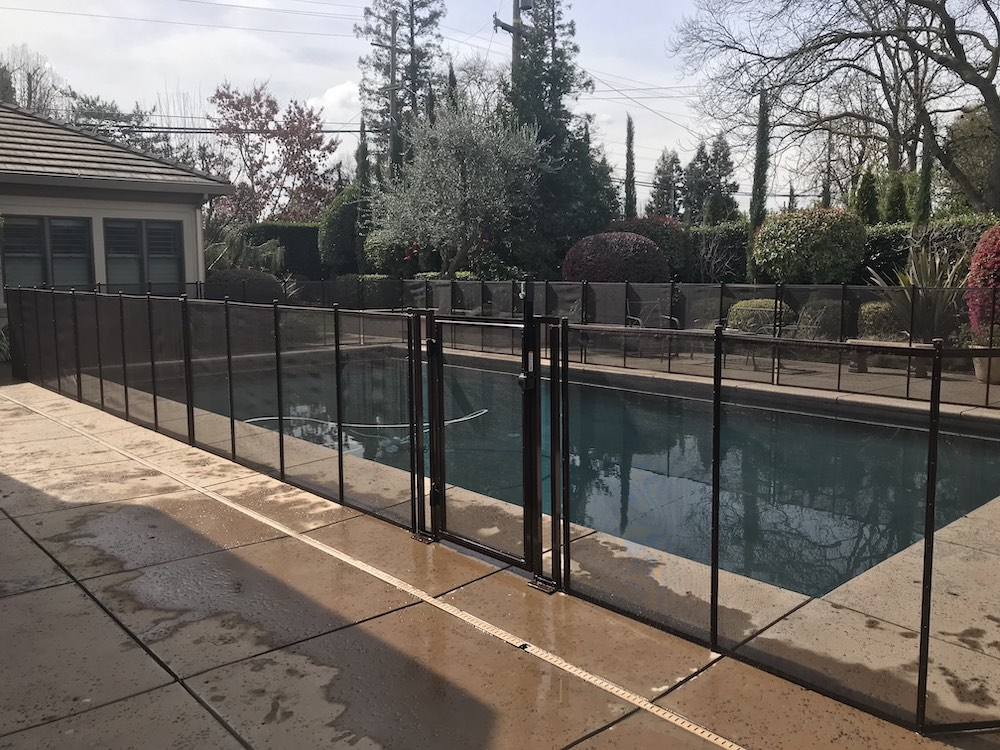 Swimming Pool Fence California Safety