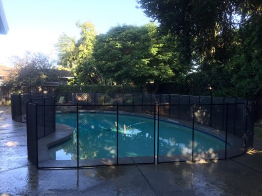 Mountain View Baby Pool Fence