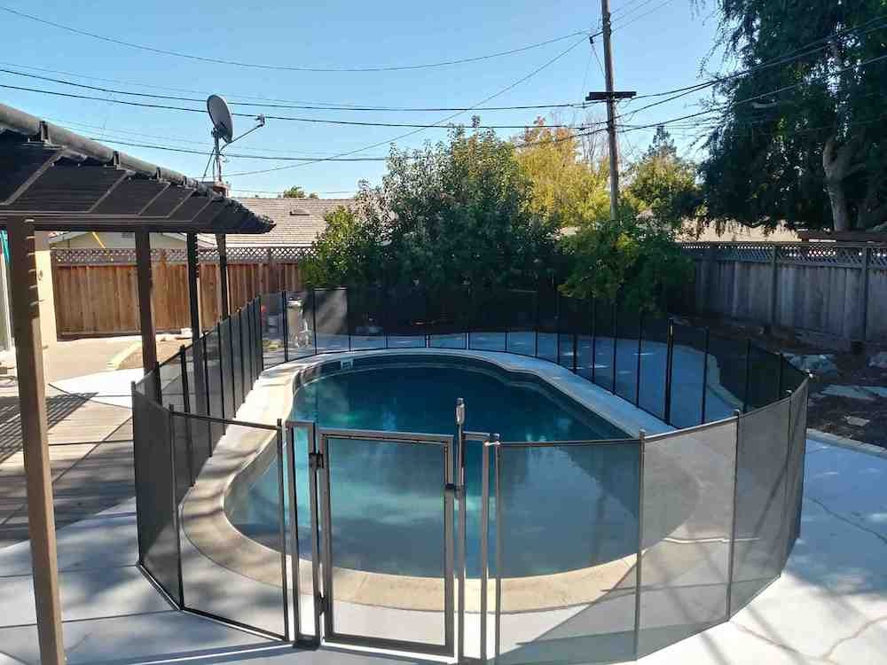 Los Gatos Baby Fence Swimming Pool