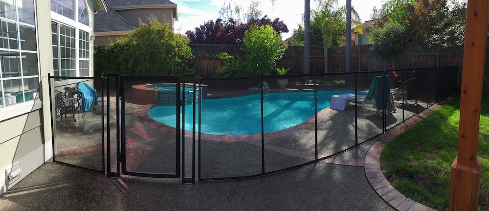 Morgan Hill Baby Fence Swimming