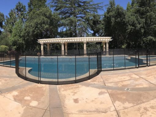 Modesto Pool Safety Fence
