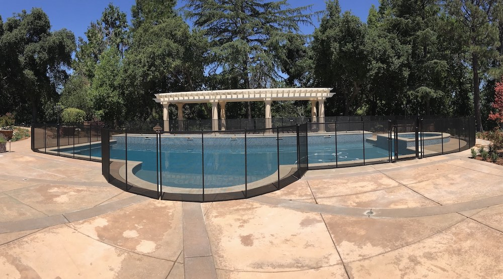 Modesto Pool Safety Fence