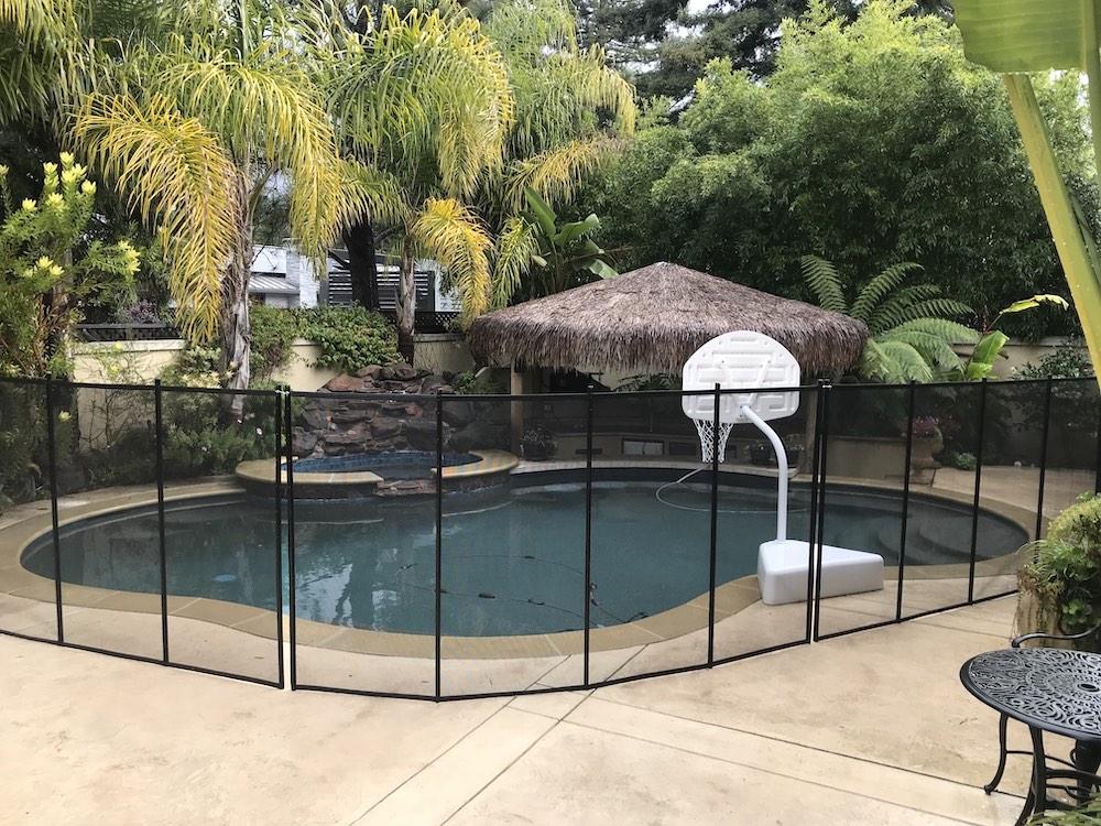 San Ramon Pool Fence Bay Area