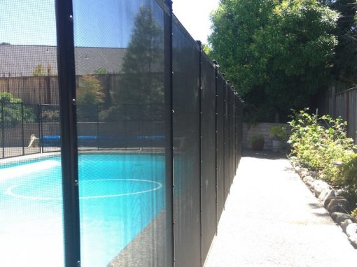 Manteca Pool Safety Fence
