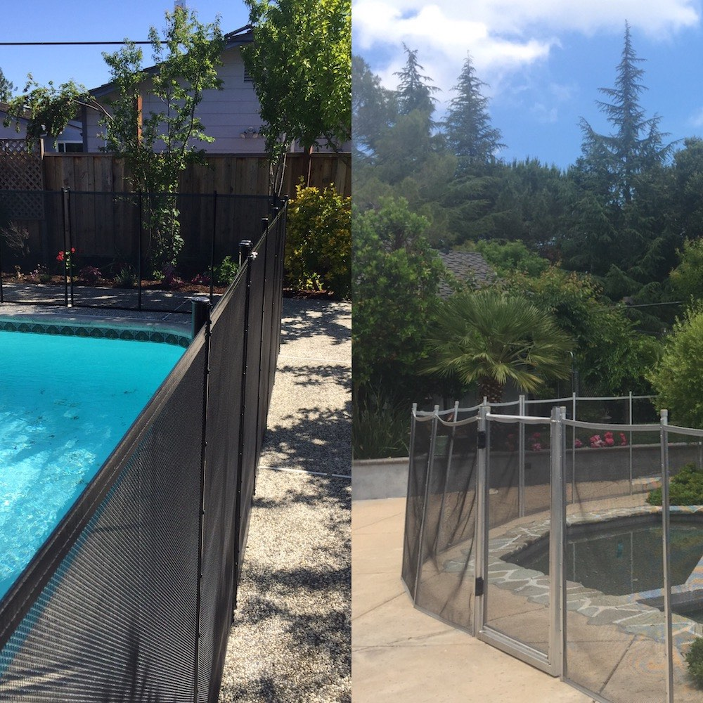 San Jose Pool Fence Baby