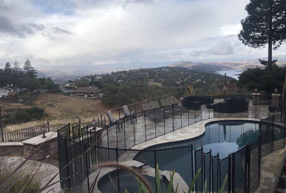Morgan Hill CA Pool Fence