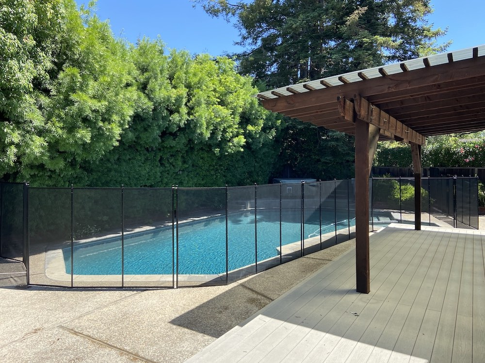 Los Altos Baby Pool Fence