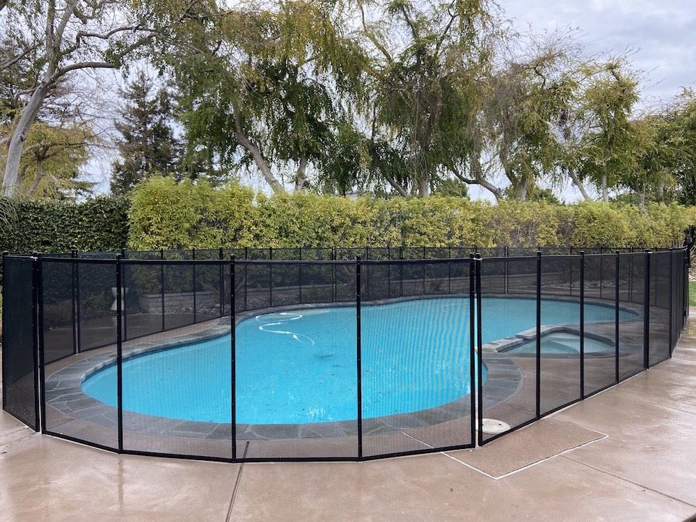 Los Altos Baby Swimming Pool Fence