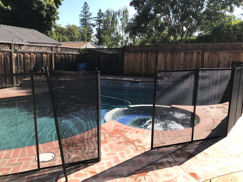 San Jose Pool Fence Gate