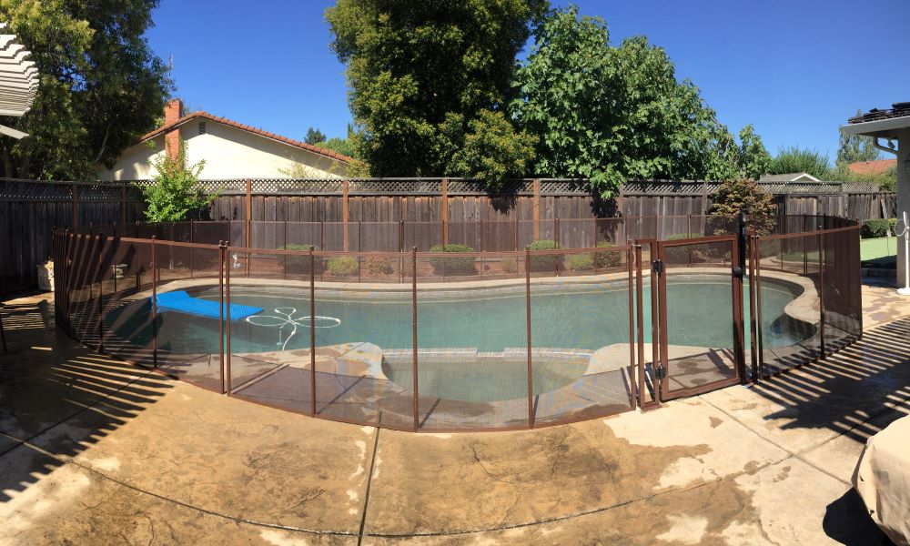 San Jose Child Pool Fence