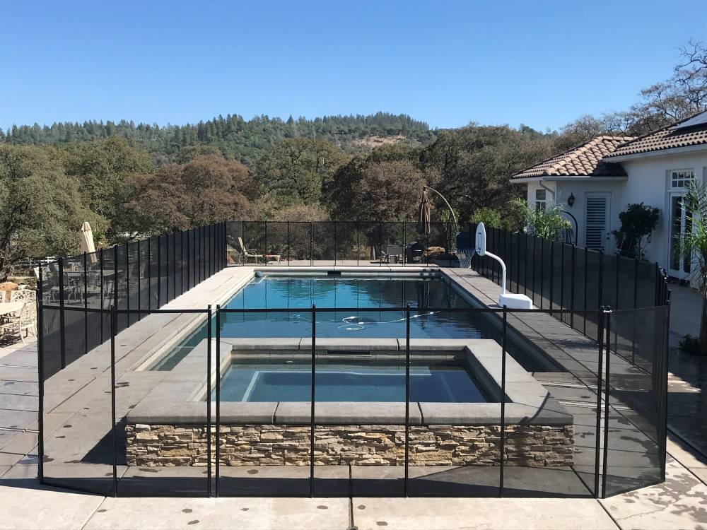 San Jose Company Pool Fence