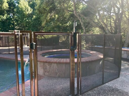 California Pool Safety Pool Fence