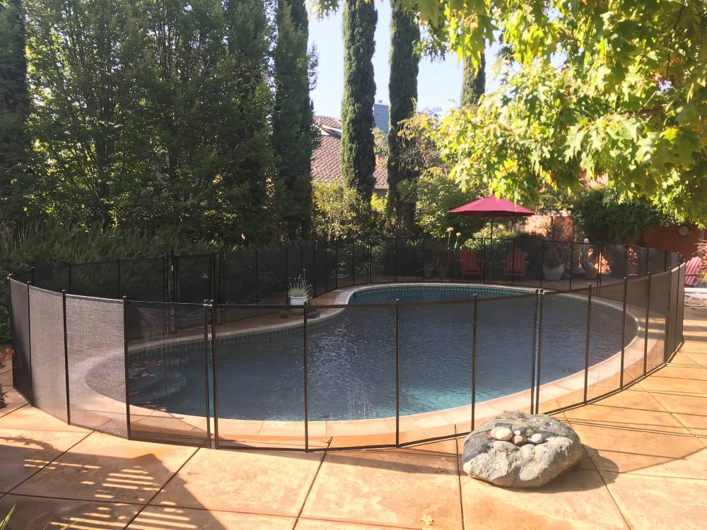 San Jose Top Pool Fence