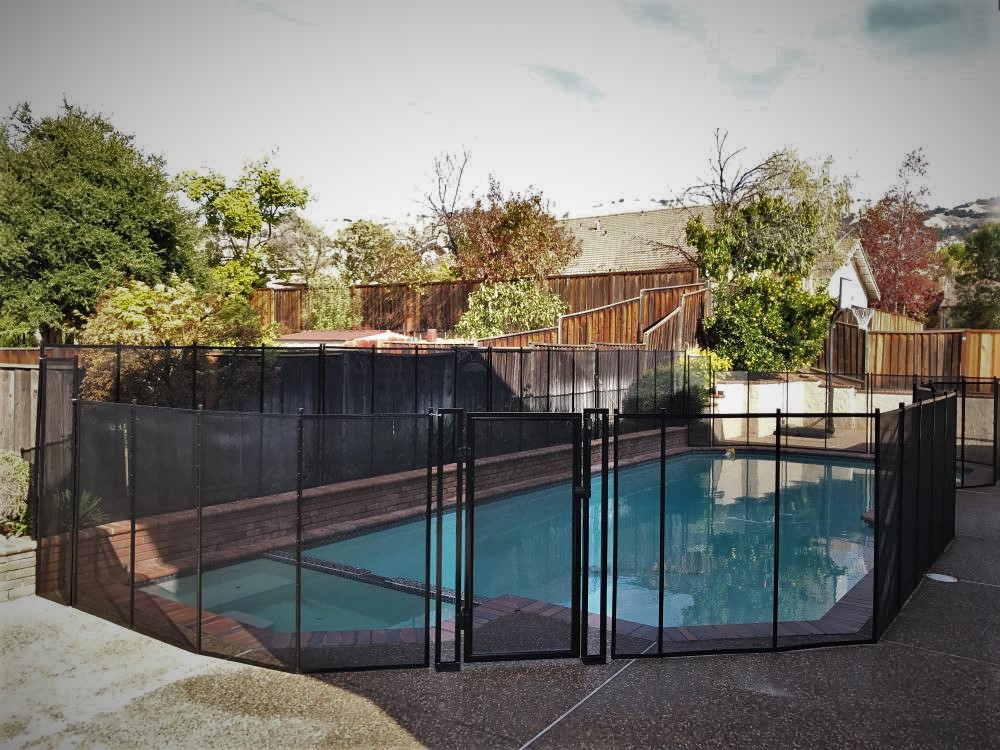 San Jose Top Pool Fence