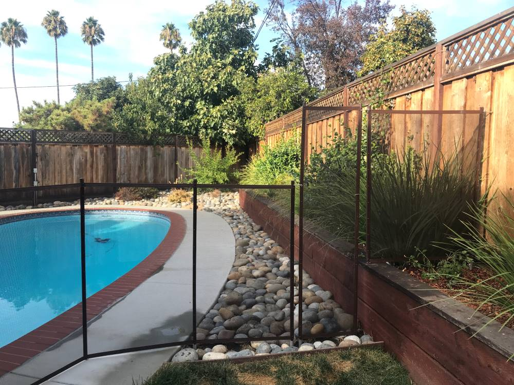 Baby Pool Fence Installs