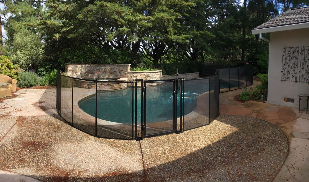 Pleasanton Pool Fence Installation