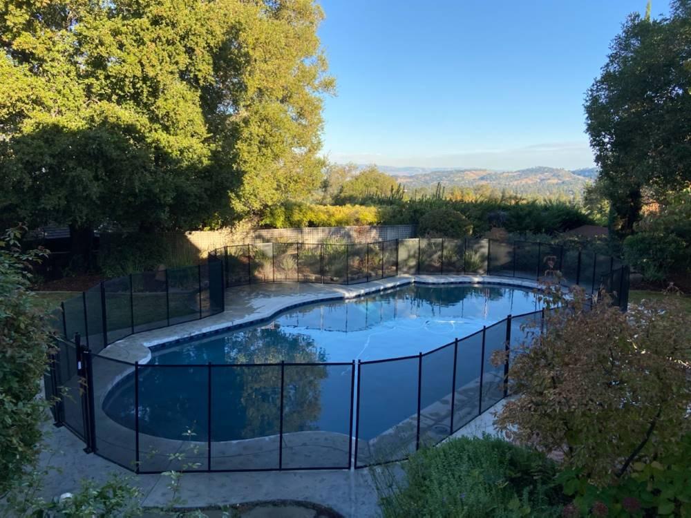 Los Altos Top Pool Fences