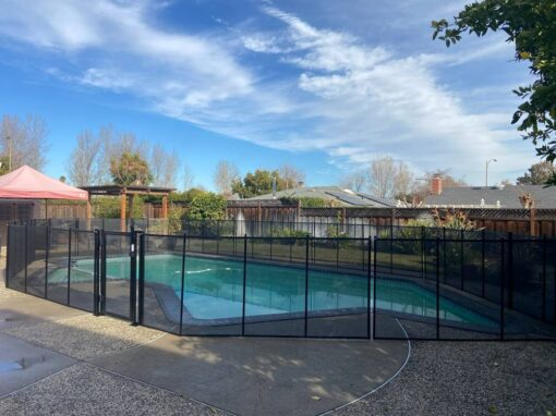 Morgan Hill Pool Fence Install