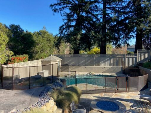 San Jose Pool Fence Installation
