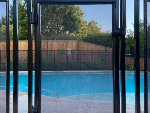 California Pool Fence Gate