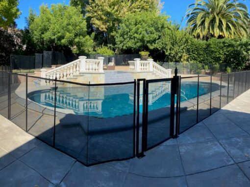 California Pool Fences Installed