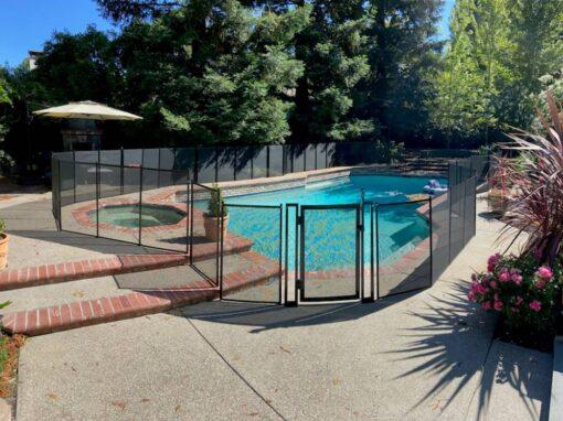 San Ramon Pool Fence Installation