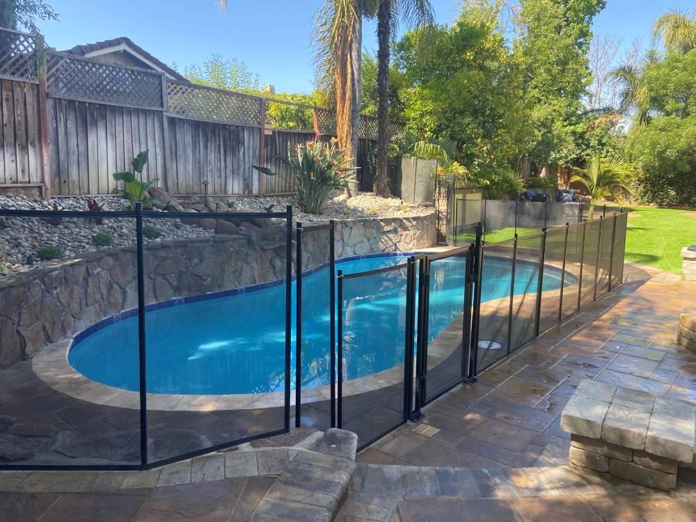 Los Gatos Pool Fences Installs