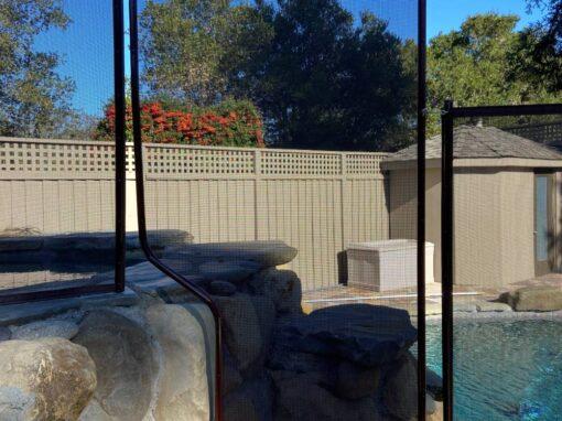 Unique Pool Fence Installs