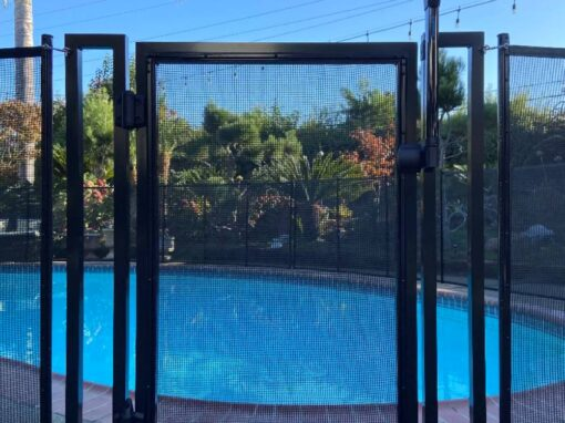 Pool Fence Gates Installed