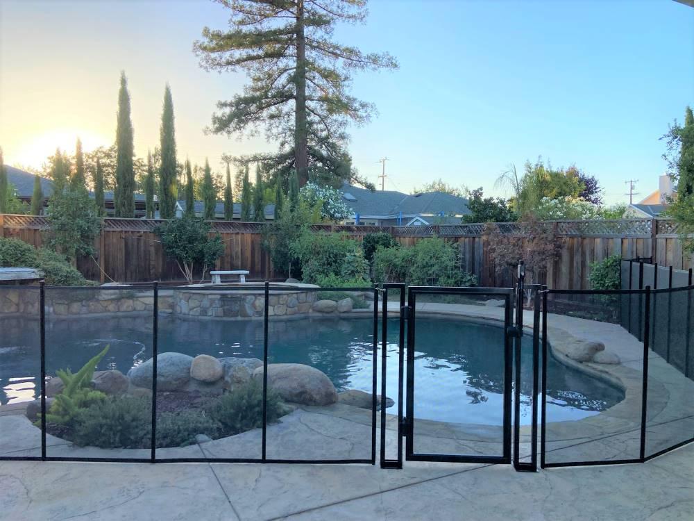 California Pool Fence Gate