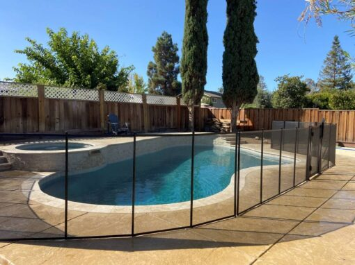 Hot Tub and Pool Fence